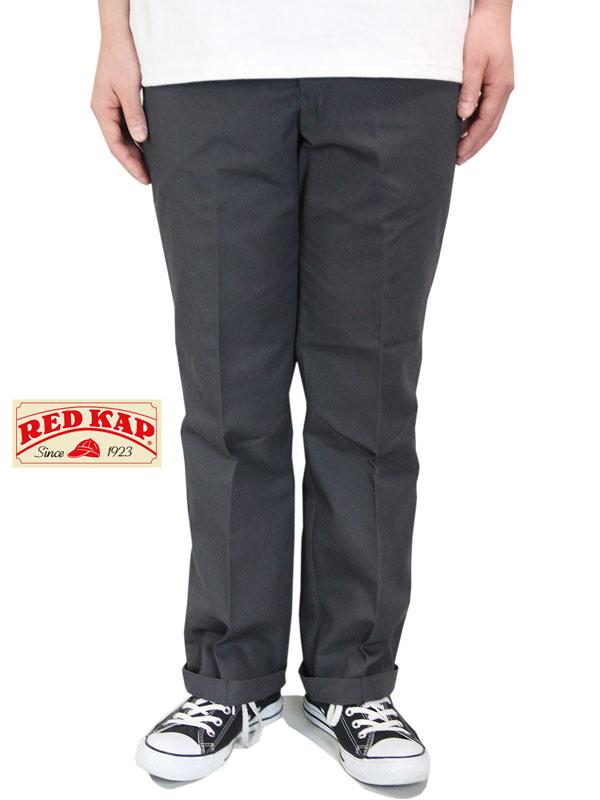 【あす楽】RED KAP レッドキャップ 8オンス ジーンカットワークパンツ チノパン グレー PT050 JEAN CUT WORK PANTS gray