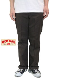 RED KAP レッドキャップ ジーンカットワークパンツ チノパン ブラウン 茶色 PT050 JEAN CUT WORK PANTS brown