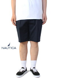 【USモデル/あす楽】NAUTICA ノーティカ コットン チノ ショートパンツ ネイビー CHINO SHORT PANTS navy