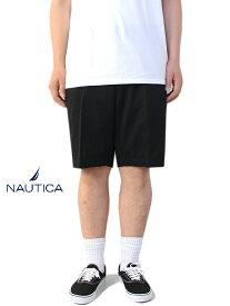 【USモデル/あす楽】NAUTICA ノーティカ コットン チノ ショートパンツ ブラック CHINO SHORT PANTS black