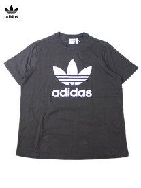 【USレディースモデル】adidas ORIGINALS アディダス オリジナルス TREFOIL LOGO TEE Tシャツ トレフォイル ロゴ 半袖 黒 ブラック black