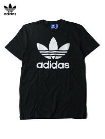 【USモデル】adidas ORIGINALS アディダス オリジナルス TREFOIL LOGO TEE Tシャツ トレフォイル ロゴ 半袖 黒 ブラック black
