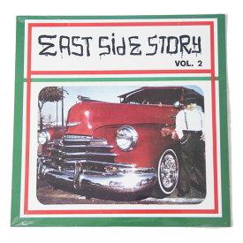 【買い付け品】【コンピレーション】EAST SIDE STORYvol2 COMPILATION LP RECORD VINYL イースト サイド ストーリー コンピレーション レコード バイナル ローライダー 2作目