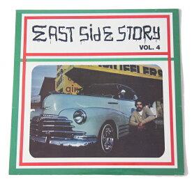 【買い付け品】【コンピレーション】EAST SIDE STORYvol4 COMPILATION LP RECORD VINYL イースト サイド ストーリー コンピレーション レコード バイナル ローライダー 4作目