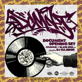 【MIXCD】DCMNT ARCHIVES #0 mixed by DJ GAJIROH