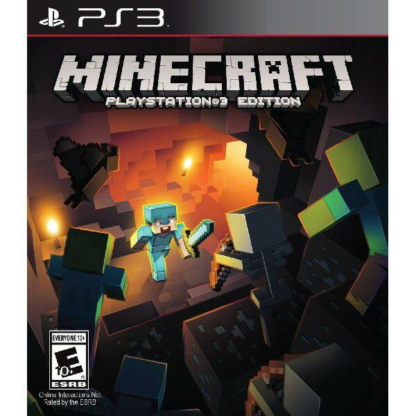 【ネコポス送料無料・即日出荷】PS3 Minecraft(マインクラフト)PlayStation 3 Edition(北米版 日本語版でプレイ可能)マイクラ 010572【ネコポス可】