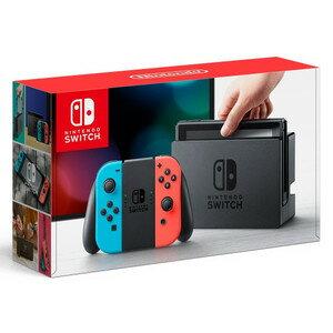【即日出荷】Nintendo Switch 本体 Joy-Con (L) ネオンブルー/ (R) ネオンレッド 任天堂スウィッチ 140532【ネコポス不可/ギフト対応不可】