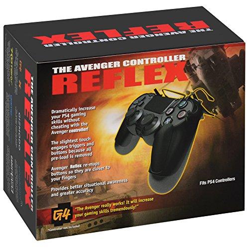 PS4専用 THE AVENGER CONTROLLER REFLEX アベンジャー リフレックス DUALSHOCK4コントローラー専用 ゲームコントローラー