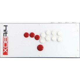 プレイステーション4とPC(ダイレクトインプット)に対応【レバーなし!奇抜かつ実践力!】hitBOX PS4 & PC対応 レバーレスゲームコントローラー【正確なコマンド入力可能!】