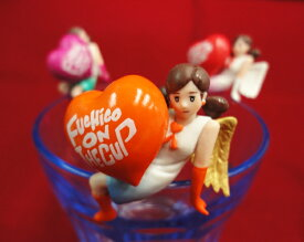 LOVE & ANGEL 愛がたくさん【全6種コンプ】コップのフチ子 スィート【DM便可】 スイート 恋の天使