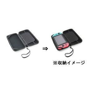【任天堂スィッチ用】ストラップ付キャリングケース【新品】