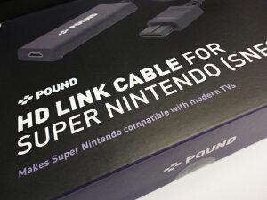 簡単接続【SNES】HDMI経由でテレビに接続する高品質リンクケーブル【USBパワーケーブル付属】