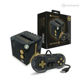 【話題沸騰中!】Hyperkin RetroN Sq: HD Gaming Console For Game Boy/Game Boy Color/ Game Boy Advance ((BlackGoldカラー) ゲームボーイがHD画質でTVで遊べる!【予約商品】