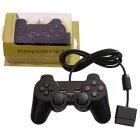 【PS2】【PS1】【新品】プレイステーション2専用コントローラーブラックAnalogController2海外サードパーティー社製品