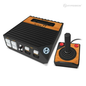 【HYPERKIN】コンパクトなフォルムで古いNESゲーム、40年前のゲームでさえ高解像度プレイ【在庫有り】 RetroN 77 HD 2600 Gaming Console 【新品】レトロン77