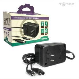 3-in-1 Universal AC Adapter NES, SNES, Genesis 用のユニバーサルACアダプター