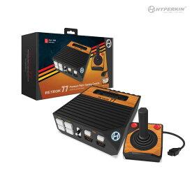 レトロン77【HYPERKIN】コンパクトなフォルムで古いNESゲーム、40年前のゲームでさえ高解像度プレイ【新品未開封】 RetroN 77 HD 2600 Gaming Console【最新パッケージデザイン】