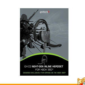 gioteckEX-03WIREDHEADSET【xbox360】ワイヤータイプヘッドセットEU輸入品