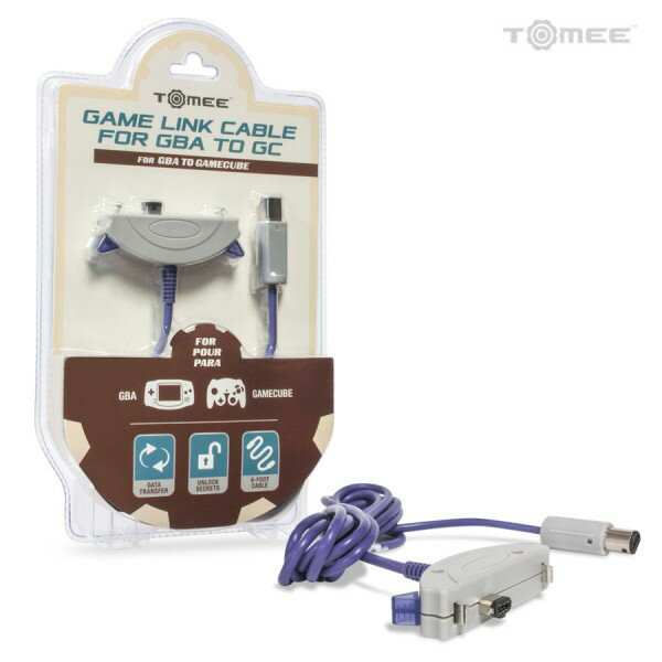 【TOMEE】Game Boy Advance to GameCube Link Cable【ゲームキューブ用GBAケーブル】サードパーティ製