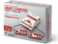 クリスマス包装できます。★新品 ニンテンドークラシックミニ ファミリーコンピュータ+【CYBER】USB ACアダプター ミニ (3DS/LL用) セット ギフトラッピング可能