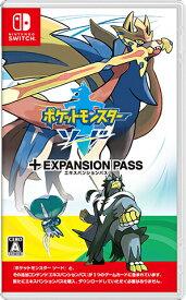 ネコポス便送料無料・新品Nintendo Switch ポケットモンスター ソード エキスパンションパス(11.6日新作)