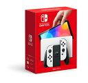 10/23日発送分・Nintendo Switch(有機ELモデル) Joy-Con(L)/(R) ホワイト発売日2021/10/08