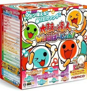【即日発送分】 【新品未開封】太鼓の達人 Wii Uば〜じょん! [太鼓とバチ同梱版] 宅配便でおねがいします。【ギフトラッピング可能】