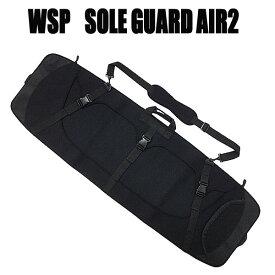 WSP ウェイクボード用ソールガードAIR ブラック ウェイクボードケース
