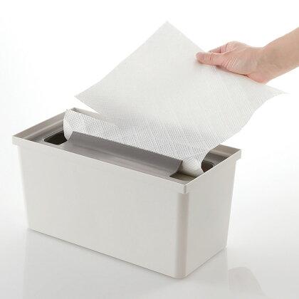 システムキッチンの引き出し収納トトノ引き出し用キッチンペーパーボックス抗菌加工10601