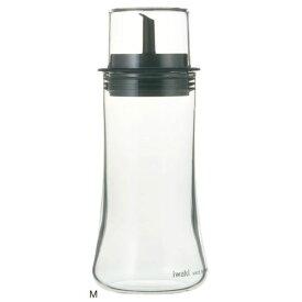 イワキ フタ付醤油差し M KT5032-BK iwaki しょうゆ しょう油 保存容器 調味料容器