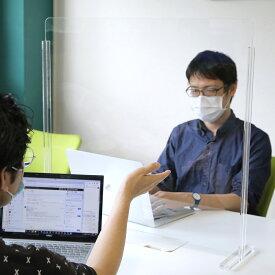 飛沫感染防止 アクリル パネル型 B-1 コロナウイルス対策 新型コロナ対策 COVID-19 パーテーション 卓上 仕切り板 飛沫対策 感染対策 密接 接客 GoToキャンペーン 条件 対面パネル クリアパネル