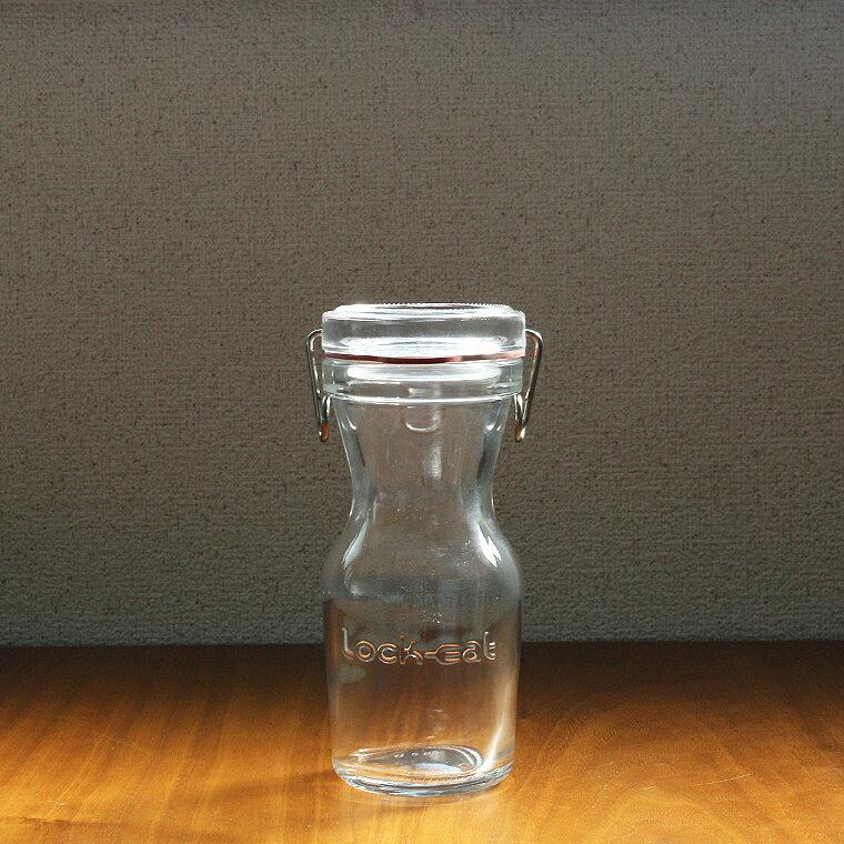 ★蓋がが外せるおしゃれなガラス保存容器 アデリア H7569 ロック・イート シリンダー 250ml PZN-077【あす楽対応】