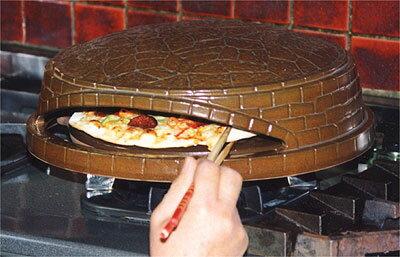 【レンタル専用商品】[往復送料無料!レンタル期間3泊4日]耐熱陶器製ピザオーブンピッツェリアピザ焼き窯