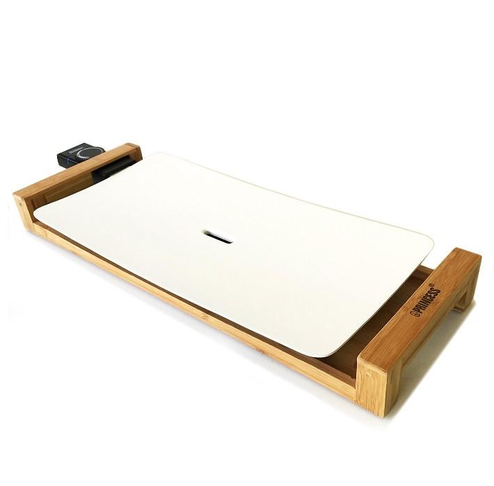 【レンタル専用商品】[往復送料無料!レンタル期間 3泊4日] プリンセス 白いホットプレート テーブルグリル ピュア ストーン グリルプレート[PRINCESS TableGrill Pure Stone]