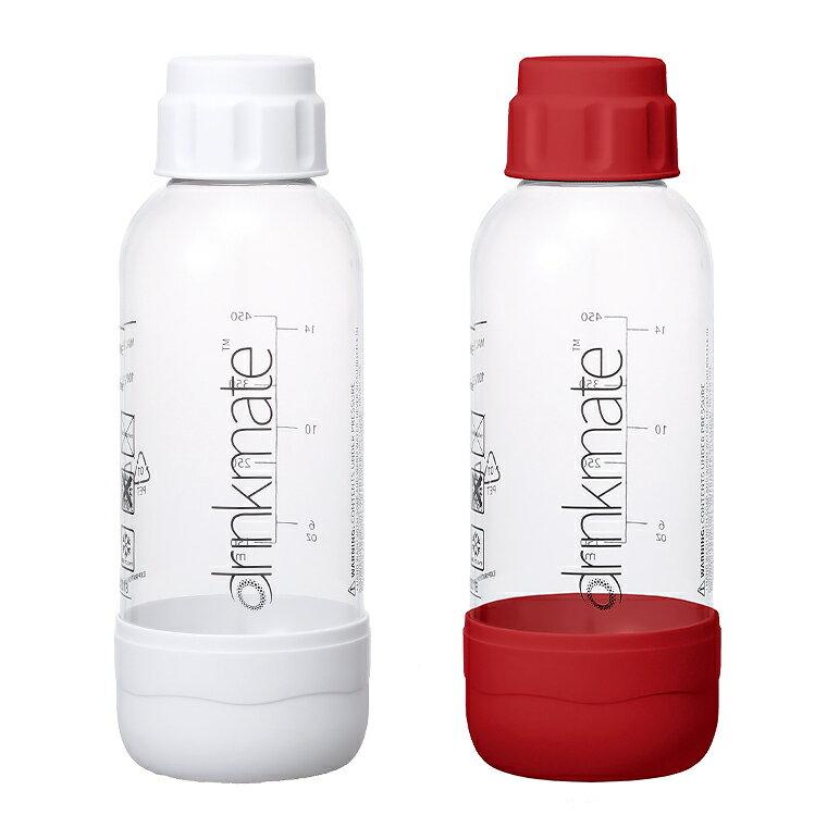 ドリンクメイト 専用ボトル Sサイズ(レッド・ホワイト・ブラック)LT zk