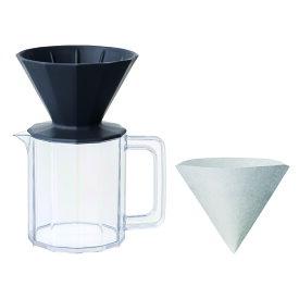 ALFRESCO ブリューワー ジャグセット 4カップ用 ブラック 20733 キントー KINTO