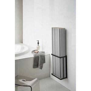マグネットバスルーム折り畳み風呂蓋ホルダー タワー ブラック BK 4861 Yamazaki tower 山崎実業 2020SS