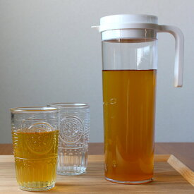横置きできる麦茶ポット KINTO 冷水筒 ピッチャー キントー PLUGウォータージャグ 冷茶ポット dohkon