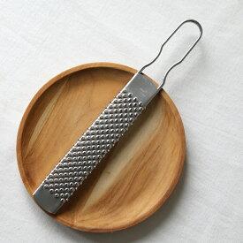エントリーで全品ポイント4倍★ステンレスグレーター パルミジャーノL ビアンキ BIANCHI イタリア製 チーズグレーター 削り器 おろし金