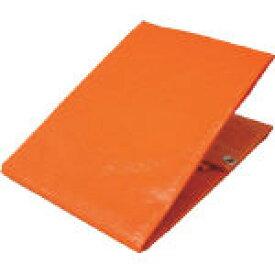 [カラーシート](株)ユタカメイク ユタカ シート #3000オレンジシート 1.8m×2.7m オレンジ OS-02 1枚【367-6293】