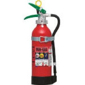 [自動車用粉末消火器]日本ドライケミカル(株) ドライケミカル 自動車用消火器6型 PAN-6AG1 1本【390-4105】
