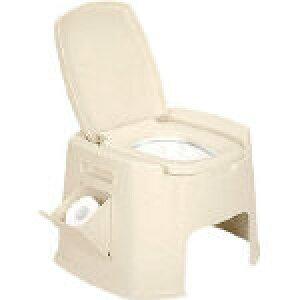 [非常用簡易トイレ]新輝合成(株) TONBO ポータブルトイレデラックス型 07426 1台【404-6421】