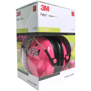 [イヤーマフ]スリーエム3MPELTORペルター子供用イヤーマフH510AKPINKピンク1個【_3m-h510ak-pink】