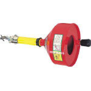 [排水管掃除機(手動タイプ)](株)ヤスダトーラー ヤスダ 排水管掃除機CR型ハンディ CR-8-9 1台【466-4531】【代引不可商品】【別途運賃必要なためご連絡いたします。】