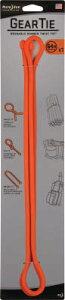 [エラストマータイ](株)シームーン NiteIze ギアータイ 64インチ オレンジ NI03024 1個(1個入)【491-4350】