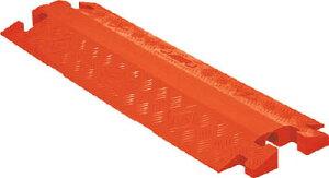 [ケーブルカバー]【送料無料】Justrite社 CHECKERS ラインバッカー ケーブルプロテクター 重量型 電線1本 CP1X225-GP-DO-O 1本【490-4028】