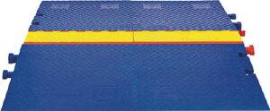 [ケーブルカバー]【送料無料】Justrite社 CHECKERS ランプ ラインバッカー ケーブルプロテクタ 重量型電線3本用 CPRP-3 1本(2個入)【490-8929】