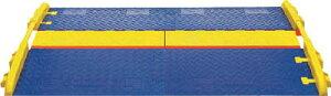 [ケーブルカバー]【送料無料】Justrite社 CHECKERS ランプ ラインバッカー ケーブルプロテクタ 中重量型電線5本用 CPRP5GD 1本(2個入)【486-5871】