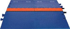 [ケーブルカバー]【送料無料】Justrite社 CHECKERS ランプラインバッカーケーブルプロテクタ重量型電線3本 CPRPGD3 1本(2個入)【486-5880】