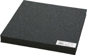 [樹脂素材](株)光 光 低反発ウレタンクッション 1000mmX2000mm 10t 黒 KTHU-12010 1枚【473-9647】